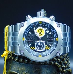 FIRM PRICE-INVICTA AVIATOR STAINLESS WATCH